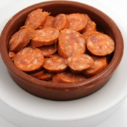 Cazuela Chorizo a la Sidra