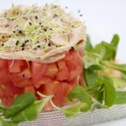 Tartar de Tomate con Ventresca